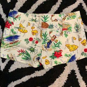 J. Crew Shorts - J. Crew Hawaiian 🌺 Short. EUC Size 10.